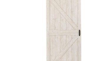 36 X 84 Prehung Interior Door Reliabilt Sandstone Gray solid Core Mdf Barn Interior Door with