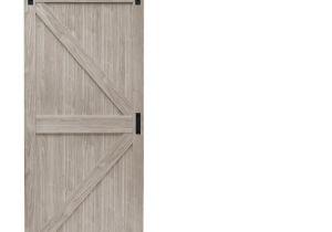 36 X 84 Prehung Interior Door Reliabilt Z Frame soft Close Pine Sliding Barn Interior Door Common