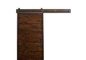 36 X 84 Prehung Interior Door Rustica Hardware 36 In X 84 In Mountain Modern Stain Glaze Clear