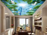3d Ceiling Living Room Custom 3d Wallpaper 3 D Ceiling Living Room Bedroom Wallpaper Big