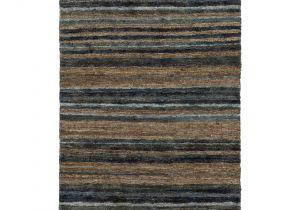 3×5 Bathroom area Rugs Hand Woven Jeff Stripe Hemp Textured Rug 3 3 X 5 3 Olive 3 3 X