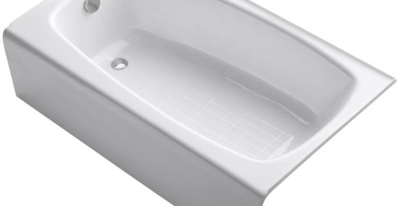 4.5 Foot Bathtub Kohler Seaforth 4 5 Ft Right Drain Rectangular Alcove soaking Tub