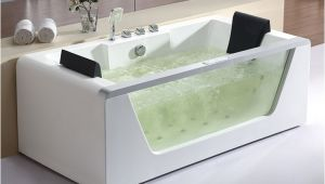 4 Foot Jetted Bathtub Eago Am196 6 Foot Clear Rectangular Whirlpool Bath Tub for
