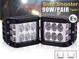 40 In Led Light Bar Co Light 4inch Led Light Bar 45w Led Work Light 12v 24v Spot Flood
