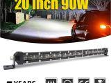 40 In Led Light Bar Co Light Super Slim 6d 20 Inch 90w Led Light Bar Combo Led Beams