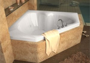 48 Bathtub Center Drain Venzi tovila 60 X 60 Corner Bathtub with Center Drain