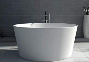 "48 Freestanding Bathtub Dowell 078 48"" Round Luxury Stone Resin Free Standing"