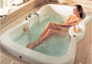 "48 Jetted Bathtub 72"" X 48""neptune Etna Rectangle Bathtub soaker for Two"