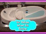 4moms Baby Bathtub Baby Bathtub Review 4moms Infant Tub Youtube