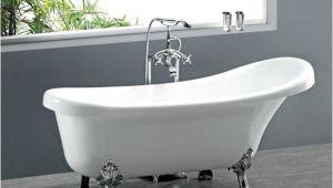 5 Foot Freestanding Bathtub Claw Foot Acrylic Free Standing soaking Bathtub 1700 X 780
