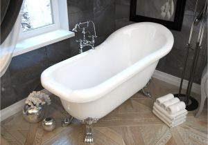 5 Foot Whirlpool Bathtub Pegasus Series 5 5 Ft Acrylic Clawfoot Non Whirlpool