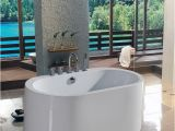 54 Freestanding Bathtub Aquatica Purescape 54 75 Inch Freestanding Tub Purescape