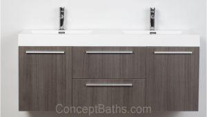 54 Inch Bathroom Vanity Lowes Wall Mounted Double Modern Bathroom Vanity Grey Oak Tn