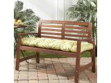 54 Inch Bench Cushion Greendale Home Fashions Outdoor Bench Cushion Blue Other Blue