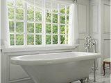 54 Inch Freestanding Bathtub Luxury 54 Inch Small Modern Clawfoot Tub In White with