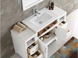 54 Inch White Bathroom Vanity Fresca Fvn21 Wh Cambridge 54 Inch White Traditional