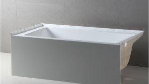 "54 X 30 Inch Bathtub Fine Fixtures Apron Acrylic 54"" X 30"" Alcove soaking"