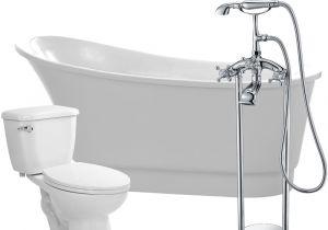 55 Whirlpool Bathtub Anzzi Prima 67 In Acrylic Flatbottom Non Whirlpool