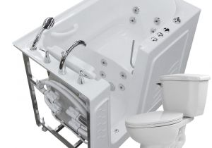 55 Whirlpool Bathtub Universal Tubs 52 8 In Walk In Whirlpool Bathtub In White