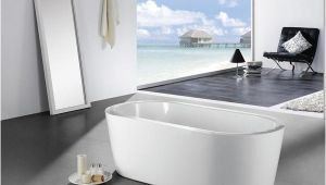58 Freestanding Bathtub Eviva Ramo Free Standing 60″ Acrylic Bathtub Evtb6201 59wh