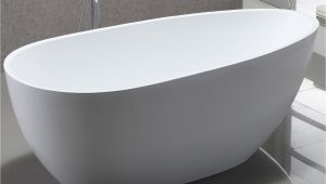 "59 Inch Freestanding Bathtub Vanityart 59"" X 29 5"" Freestanding soaking Bathtub"