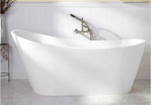 "5' Freestanding Bathtub 65"" Arcola Acrylic Freestanding Tub Bathroom"