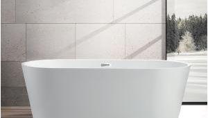 5' Freestanding Bathtub Vanity Art Bordeaux 67 In Acrylic Flatbottom Freestanding