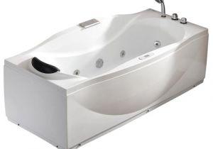 6 Ft Whirlpool Bathtub Eago Eago Am189etl R 6 Ft Right Drain Acrylic White