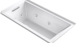 """60 X 30 Whirlpool Bathtub Kohler Underscore 60"""" X 30"""" Whirlpool Bathtub"""