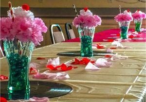 65 Birthday Table Decorations 1950 S Sock Hop Party Pinterest Diy