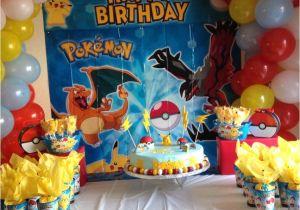 65 Year Old Birthday Party Decorations Pokemon Decoration Pinterest