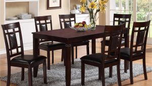 7 Piece Dining Set with Bench Crown Mark Paige 7 Piece Table and Chair Set with Block Feets
