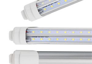 8ft Led Light Fixture R17d 8 Foot Led Bulbs T8 T10 F96t12 8ft Cw Ho Led Tube Light