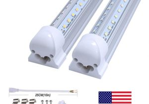 8ft Led Light Fixture T8 Tube Led V Shape Integrate 4ft 5ft 6ft 8ft Double Side Power Led