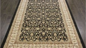8×6 Black Rug Traditional Pearl Rug 9 8×6 6ft Black oriental Rugs Carpet