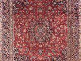 8×6 Outdoor Rug Floral 9×12 Mashad Persian area Rug