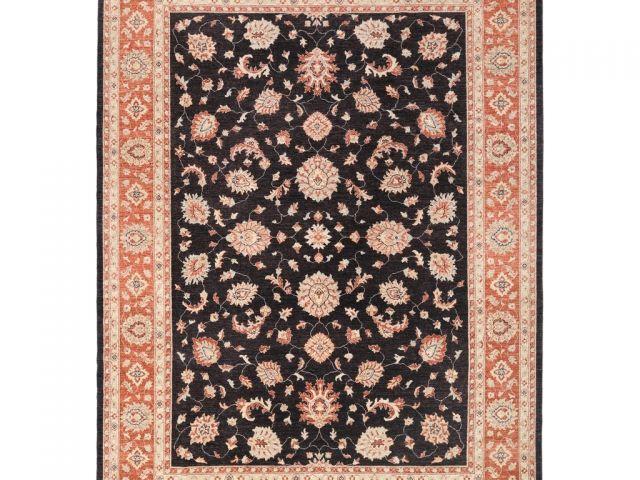 9 12 Oriental Rugs Afghan Hand Knotted Vegetable Dye Oushak Wool Rug