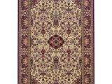 9×12 oriental Rugs Couristan Everest Ardebil Ivory Red Rug 9 X 12 Ardebil Ivory