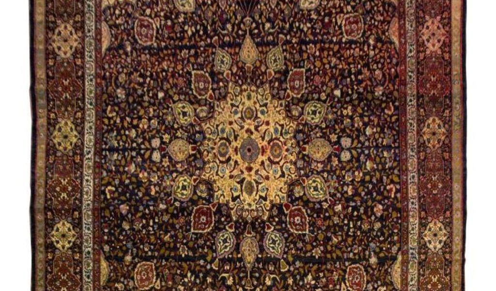 9 12 Oriental Rugs Hand Tied Persian Tabirz Wool Rug 17 9 X 12 Rugs