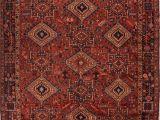 9×12 oriental Rugs Persian Gharadjeh Red Rectangle 9×12 Ft Wool Carpet 16769