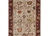 9×12 oriental Rugs Safavieh Kashan Ivory Red Rug 9 X 12 Ksn303d 9 Pinterest