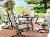 Academy Sports Patio Chairs Hampton Bay Statesville 5 Piece Padded Sling Patio Dining Set with