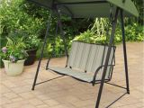 Academy Sports Patio Chairs Outdoor 2 Person Canopy Swing Backyard Seat Chair Metal Patio