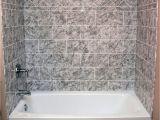 Acrylic Bathtub with Tub Surround Syracuse Acrylic Wall Systems