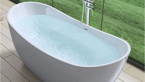 Acrylic Freestanding Bathtubs Uk Aquasoak Free Standing Luxury Bath Tub Deep Fill Dual