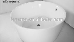 Acrylic Round Bathtubs 1200mm Small Round Acrylic Bathtub Two Person Free