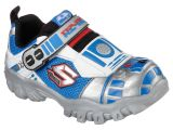 Adult Light Up Sketchers Skechers Boys Damager Iii astromerch R2 D2 Light Up athletic Shoe