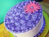 Advanced Cake Decorating Classes Near Me Purple buttercream Cake Sweet Melissa S Cakes Pinterest Cake