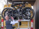 Airstream Bike Rack Installation Using the Fiamma Rv Bike Rack Youtube