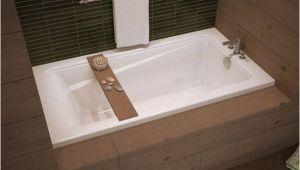 "Alcove Bathtub 60 X 32 Maax Exhibit 60"" X 32"" Acrylic Alcove Bathtub with Tiling"